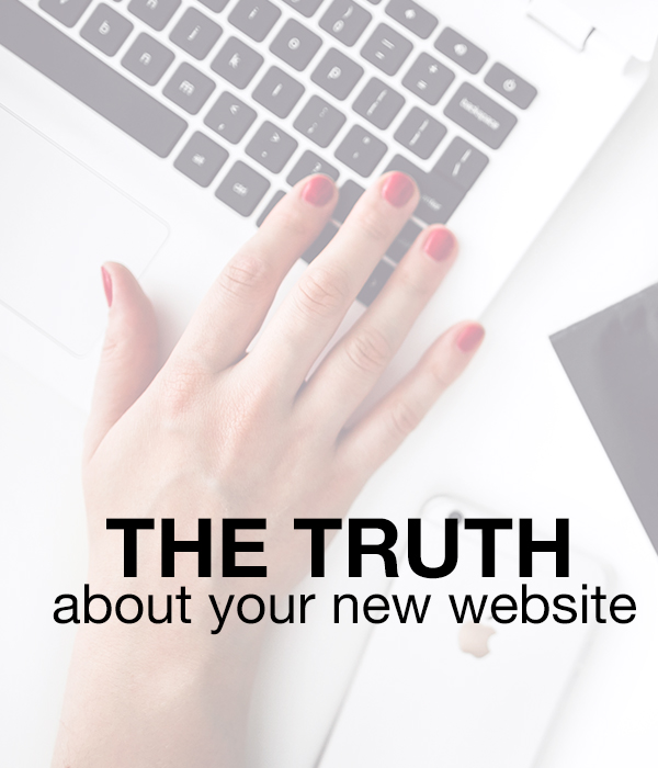 The Truth about your Small Business Website